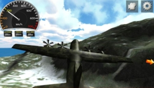 C130 flight simulator In Game